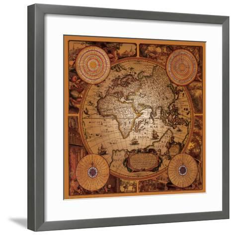 Antique Map, Cartographica I--Framed Art Print