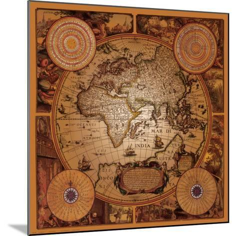 Antique Map, Cartographica I--Mounted Art Print