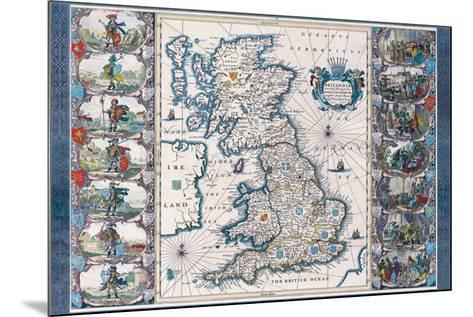 Antique Map, Britannia, c.1646 Art Print by Joannes Jansson | the ...
