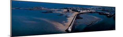 St. Malo, le Mole des Noirs-Philip Plisson-Mounted Art Print