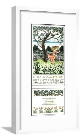 Little Miss Muffet-Francis Donkin Bedford-Framed Art Print