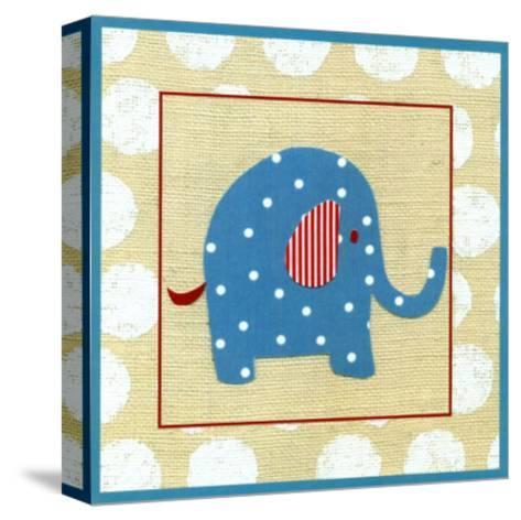 Katherine's Elephant-Chariklia Zarris-Stretched Canvas Print