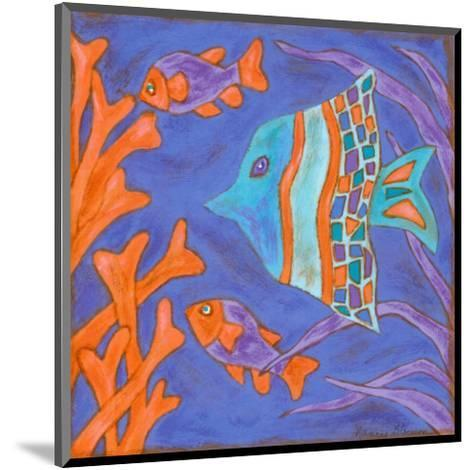 Pop Fish III-Nancy Slocum-Mounted Art Print