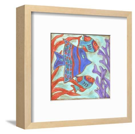 Pop Fish IV-Nancy Slocum-Framed Art Print