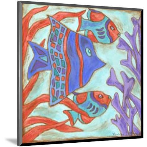 Pop Fish IV-Nancy Slocum-Mounted Art Print