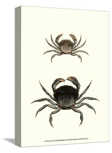 Antique Crab I-James Sowerby-Stretched Canvas Print