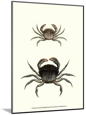 Antique Crab I-James Sowerby-Mounted Art Print