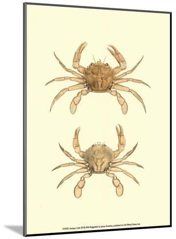 Antique Crab III-James Sowerby-Mounted Art Print