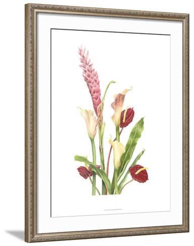Tropical Bouquet I-Pamela Shirley-Framed Art Print