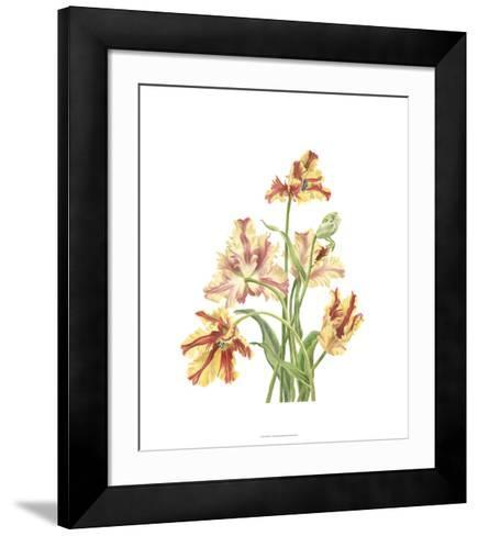 Tulip Spray I-Pamela Shirley-Framed Art Print