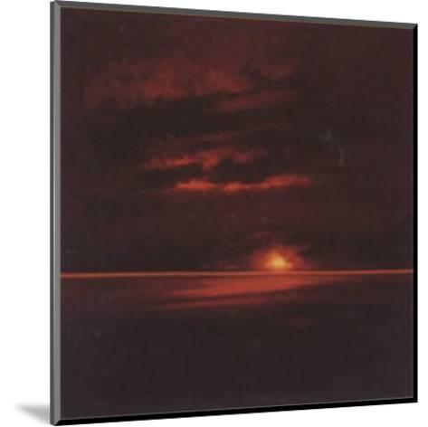 Tropical Sunset II-Spencer Lee-Mounted Art Print