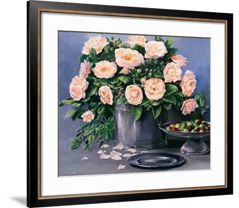 Flowers and Apples II-Karin Valk-Framed Art Print