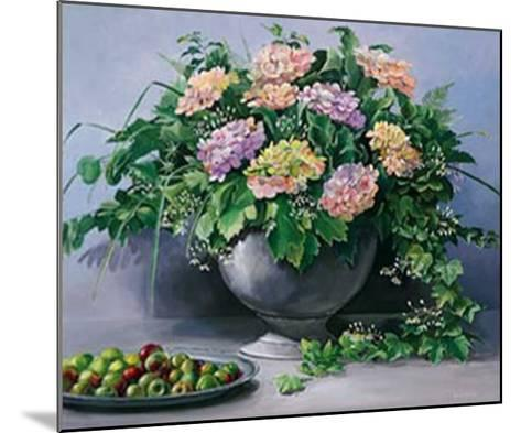 Flowers and Apples I-Karin Valk-Mounted Art Print