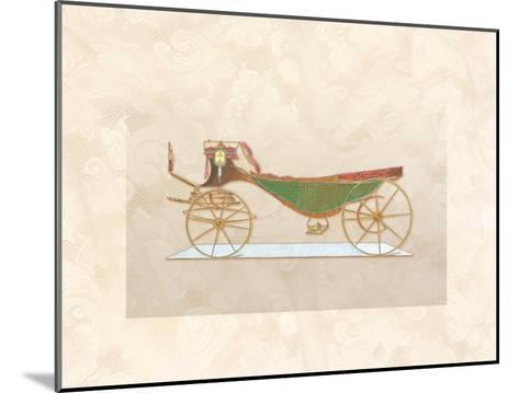 Coach I--Mounted Art Print