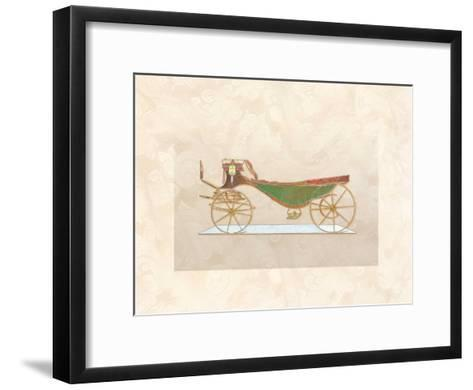 Coach I--Framed Art Print