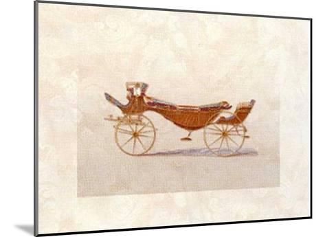 Coach II--Mounted Art Print