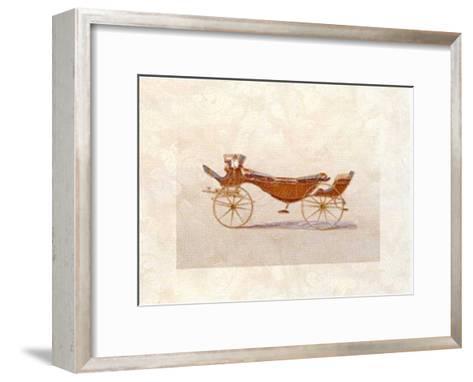 Coach II--Framed Art Print