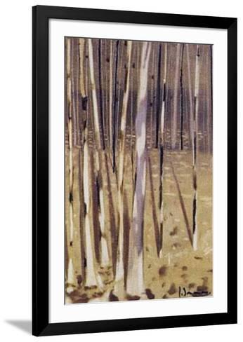 Bosque IV-Jesus Barranco-Framed Art Print