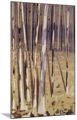 Bosque IV-Jesus Barranco-Mounted Art Print