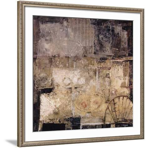 Signos del Espacio II-Eduardo Sales E^-Framed Art Print