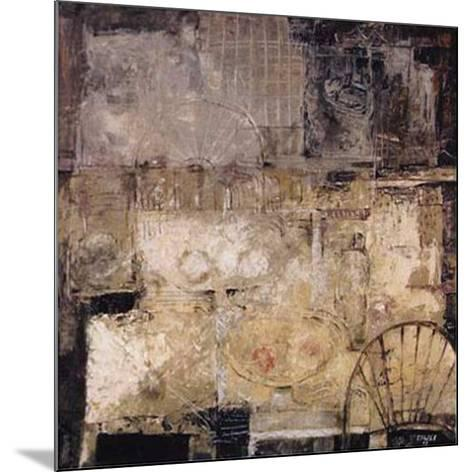 Signos del Espacio II-Eduardo Sales E^-Mounted Art Print