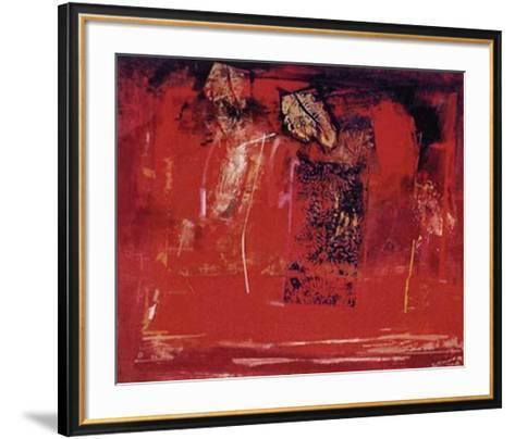 Mesa Roja-Justo San Felices-Framed Art Print
