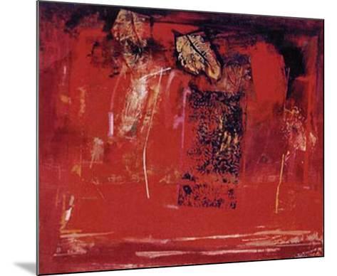 Mesa Roja-Justo San Felices-Mounted Art Print