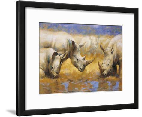 Rhinoceros-Joaquin Moragues-Framed Art Print