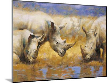 Rhinoceros-Joaquin Moragues-Mounted Art Print