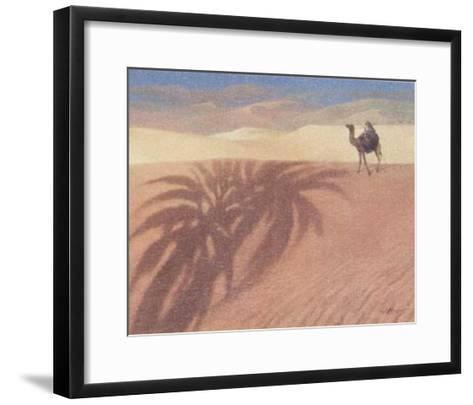 Right in the Middle III-Joaquin Moragues-Framed Art Print
