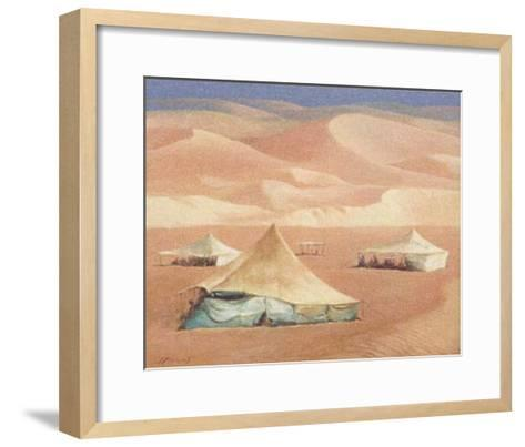 Right in the Middle IV-Joaquin Moragues-Framed Art Print