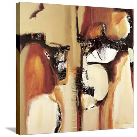 Abstract I-Natasha Barnes-Stretched Canvas Print