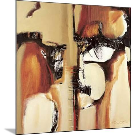 Abstract I-Natasha Barnes-Mounted Art Print