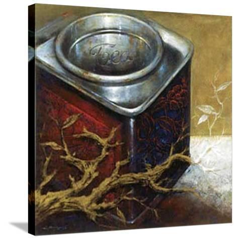 Tea II-Joaquin Moragues-Stretched Canvas Print