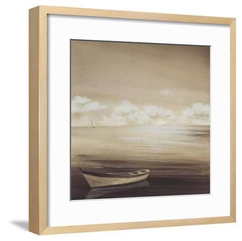 Cloudy Horizon-Isabel Martinez-Framed Art Print