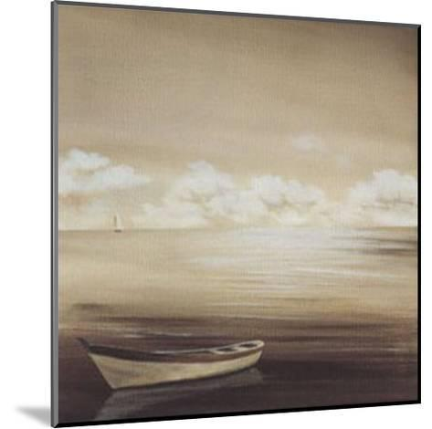 Cloudy Horizon-Isabel Martinez-Mounted Art Print