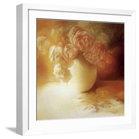 Roses II-Peggy Silbermann-Framed Art Print
