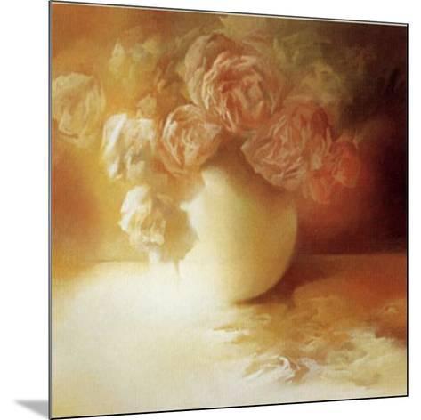 Roses II-Peggy Silbermann-Mounted Art Print