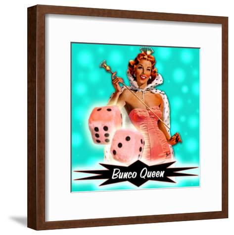 American Bunco Queen--Framed Art Print
