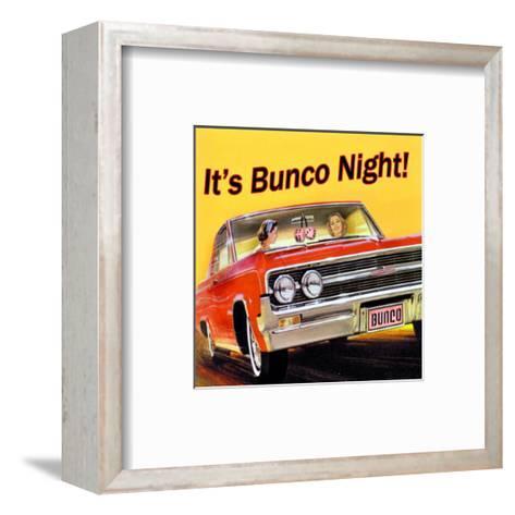Bunco Night--Framed Art Print