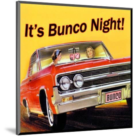 Bunco Night--Mounted Giclee Print