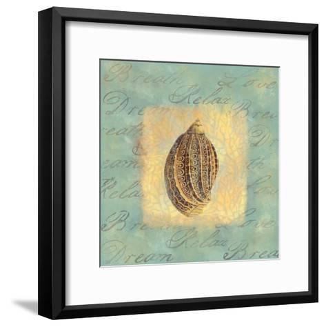 Spa Sea Shell II--Framed Art Print