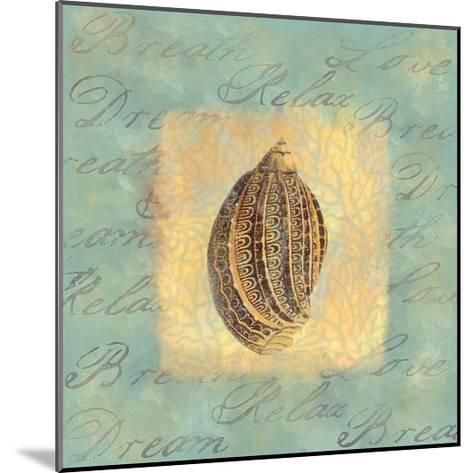 Spa Sea Shell II--Mounted Giclee Print