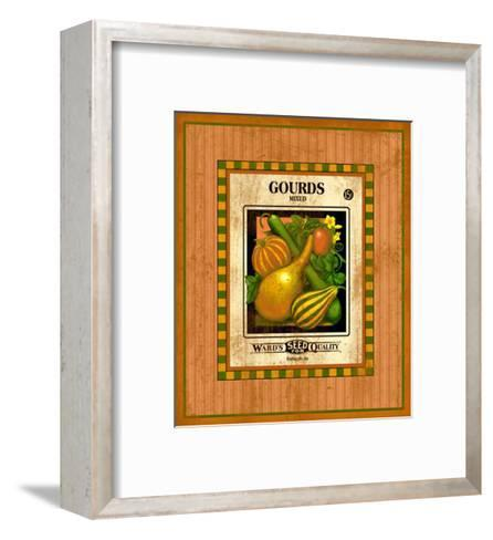 Gourd Seed Pack--Framed Art Print