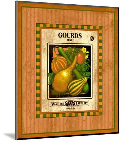 Gourd Seed Pack--Mounted Giclee Print