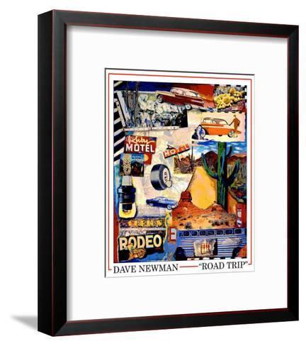 Road Trip-Dave Newman-Framed Art Print