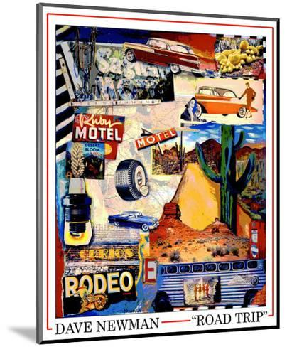 Road Trip-Dave Newman-Mounted Giclee Print