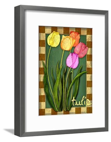 Tulip Flowers-Kate Ward Thacker-Framed Art Print