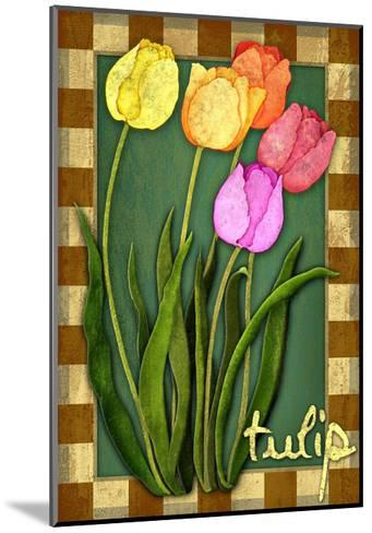 Tulip Flowers-Kate Ward Thacker-Mounted Giclee Print