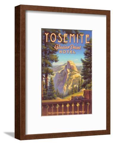 Yosemite, Glacier Point Hotel-Kerne Erickson-Framed Art Print